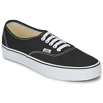 Shoes Low top trainers Vans AUTHENTIC Black