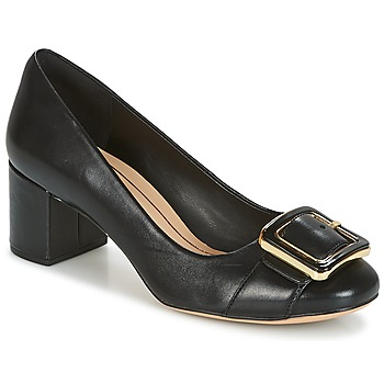 Shoes Women Court shoes Clarks ORABELLA FAME  black / Leather
