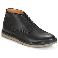 Shoes Men Mid boots Clarks BONNINGTON TOP  black / Leather