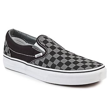 Shoes Slip ons Vans CLASSIC SLIP-ON Black / Grey