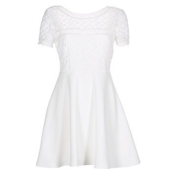 material Women Short Dresses Betty London INLOVE White