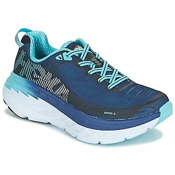 Shoes Women Running shoes Hoka one one BONDI 5 Blue / Black