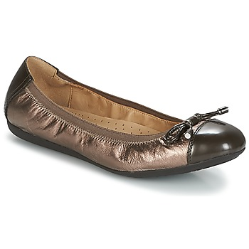 Shoes Women Ballerinas Geox D LOLA 2FIT Brown