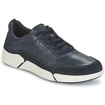 Shoes Men Low top trainers Geox U AILAND Marine