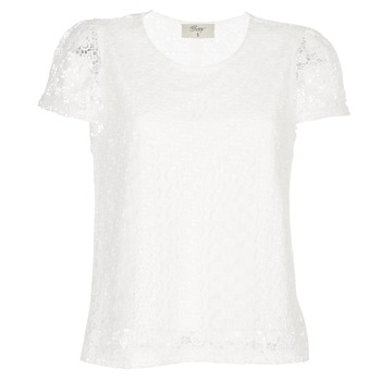 material Women Blouses Betty London I-LOVI White