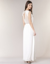 material Women Long Dresses Betty London ILOVEYOU White