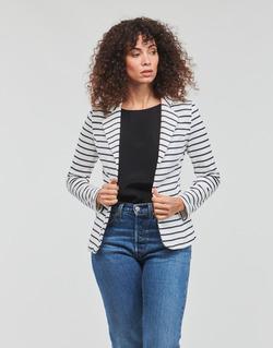 material Women Jackets / Blazers Moony Mood IFAROUCHE White / Marine