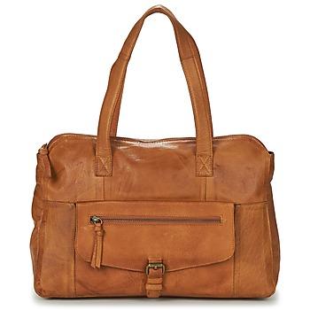 Bags Women Shoulder bags Pieces PCABBY Cognac