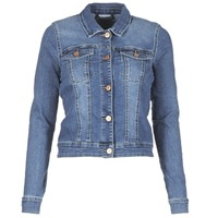 material Women Denim jackets Noisy May NMDEBRA Blue / Medium