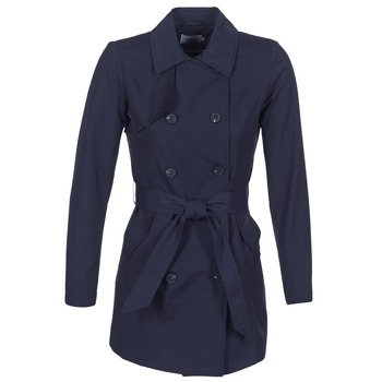 material Women Trench coats Only LUCY Marine