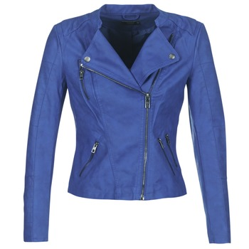 material Women Leather jackets / Imitation le Only AVA Blue