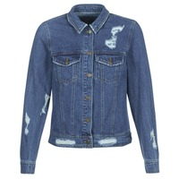 material Women Denim jackets Only BECKY Blue / Medium