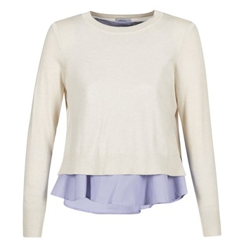 material Women jumpers Only LATISHA Beige / Blue