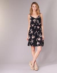 material Women Short Dresses Only KARMEN Black