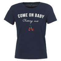 material Women short-sleeved t-shirts Only KITA Marine