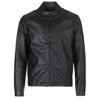 material Men Leather jackets / Imitation le Yurban IMIMID Black
