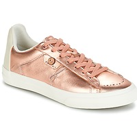 Shoes Women Low top trainers Faguo SLOE03 Pink / Gold