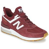 Shoes Men Low top trainers New Balance MS574 Bordeaux