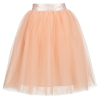 material Women Skirts Betty London I-LOVA Pink / Beige