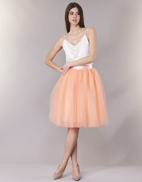 material Women Skirts Betty London I-LOVA Pink