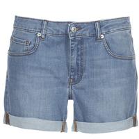 material Women Shorts / Bermudas Yurban INYUTE Blue / Clear