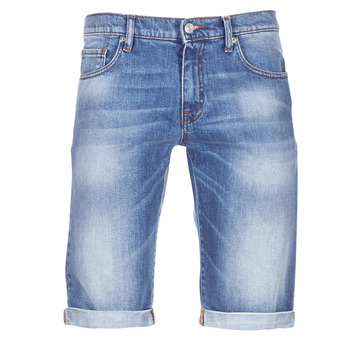 material Men Shorts / Bermudas Casual Attitude IXOLAK Blue / Clear