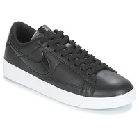 Shoes Women Low top trainers Nike BLAZER LOW ESSENTIAL W Black