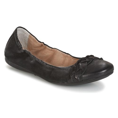 Shoes Women Ballerinas Dream in Green TIRIOLA Black