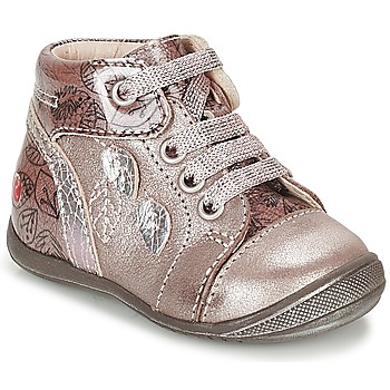 Shoes Girl High top trainers GBB ROSEMARIE Pink
