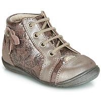 Shoes Girl High top trainers GBB NICOLE Vtv / Wood / De / Pink / Dpf / Kezia