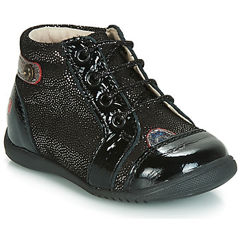 Shoes Girl High top trainers GBB NICOLE Vtv / Black-disco / Dpf / Kezia