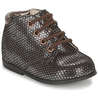 Shoes Girl Mid boots GBB TACOMA Coppery / Pink
