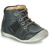 Shoes Boy High top trainers GBB RACINE Vte / Grey / Dpf / Raiza