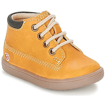Shoes Boy Mid boots GBB NORMAN Mustard
