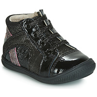 Shoes Girl Low top trainers GBB ROSETTA Vtv / Black-disco / Dpf / Franca