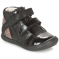 Shoes Girl High top trainers GBB ROXANE Black / Silver