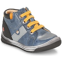 Shoes Boy High top trainers GBB RENOLD Blue