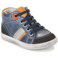 Shoes Boy High top trainers GBB ANGELITO Vte / Marine / Dpf / 2367