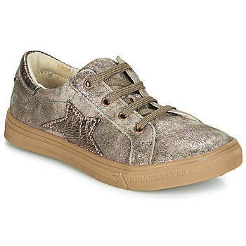 Shoes Girl Low top trainers GBB SABINE Crt / Taupe / Pink / Dpf / Dolby