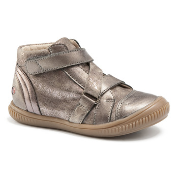 Shoes Girl High top trainers GBB RADEGONDE Vtc / Taupe / Dpf / Franca