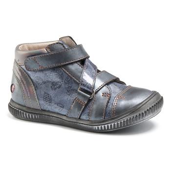 Shoes Girl High top trainers GBB RADEGONDE Vtv / Blue / Grey / Dpf / Franca