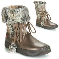 Shoes Girl Boots GBB NOUSTIK Bronze