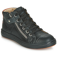 Shoes Boy High top trainers GBB NICO Black