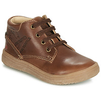 Shoes Boy High top trainers GBB NINO Vte / Brown / Dpf / 2835