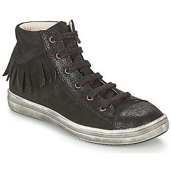 Shoes Girl High top trainers GBB FRANCESCA Black