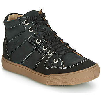 Shoes Boy High top trainers GBB NEMOON Vtc / Black / Dpf / White