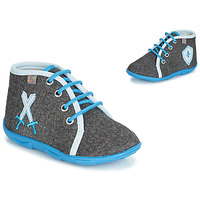 Shoes Boy Slippers GBB DAGONET Grey-blue / Dtx / Amis