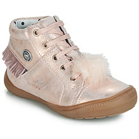 Shoes Girl High top trainers Catimini ROSALIE Vte / Pink / Powder / Dpf / 2822