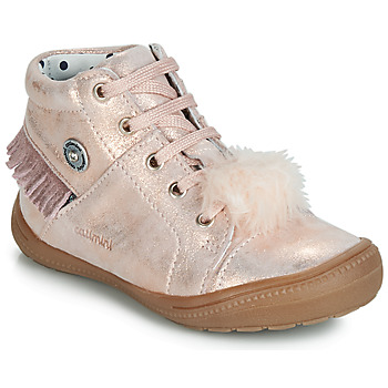 Shoes Girl High top trainers Catimini ROSALIE Pink