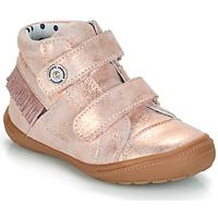 Shoes Girl Mid boots Catimini MAGENTA Pink